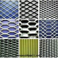 Decorative Metal Mesh Panels Flat Wire Mesh Panels For