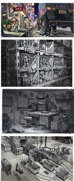 Toy Story 3 Concept Art