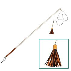 NEW Autumn Colors  Natural Wand Cat Toy with by MountainCatTrees, $14.95