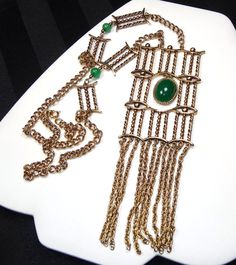 TEAMLOVE Vintage Chain Jewelry by Dianne on Etsy