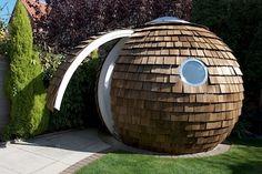 archipod garden pod
