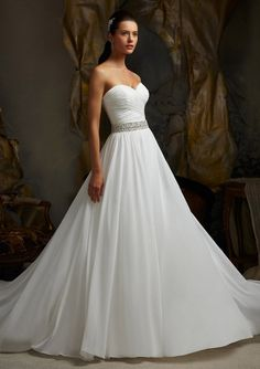 my dream wedding dress but would be perfect with straps