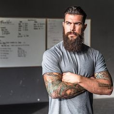 Dave Driskell...that beard!