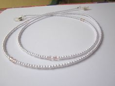 Beaded Eyeglass Sunglasses Holder Chain  Strap Neck Cord Necklace  #Handmade