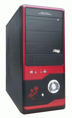 The SYSTEM UNIT is a case that contains electronic components of the computer used to process data.