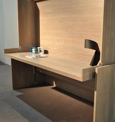 Lit bureau moderne 39 house 140 39 armoire lit bureau for Lit escamotable bureau integre