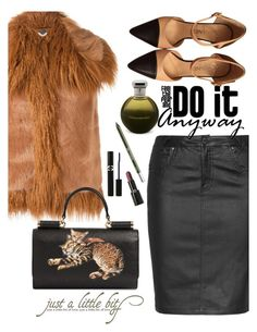 """Faux Fur"" by juliehooper ❤ liked on Polyvore featuring STELLA McCARTNEY, Zhenzi, Chanel, Dolce&Gabbana, Sisley, Urban Decay, Giorgio Armani and Catherine Malandrino"