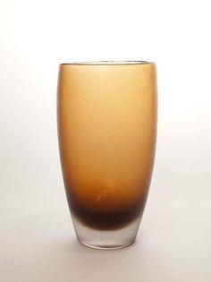 AOLO VENINI INCISO GLASS VASE