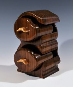 Walnut Jewelry Bandsaw Box