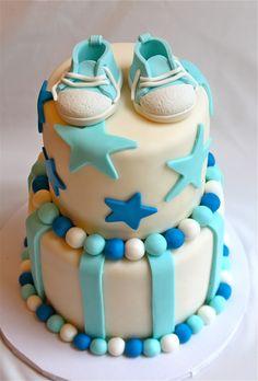 Bella Baker Baby Shower Cake