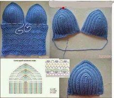 201 Fantastiche Immagini Su Top Uncinetto Crochet Clothes Crochet