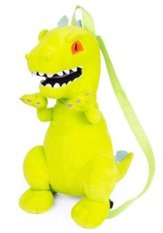 2636b4d46097 Any kid is going to love this Nick Rugrats Reptar Plush Backpack! Let them  flash back to their youth and obsess over Reptar!