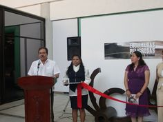 """Inauguración, """"Esculturas Peligrosas"""" en el vestíbulo del Centro Cultural de Chiapas Jaíme Sabines, en Tuxla Gutiérrez. #PepoToledoArt"""