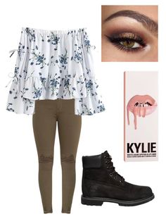 Untitled #8 by kiraleighx on Polyvore featuring polyvore, fashion, style, Timberland and clothing