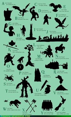 Epic doesn't even begin to describe this! :D ~ ABC's of Lord of the Rings #LOTR