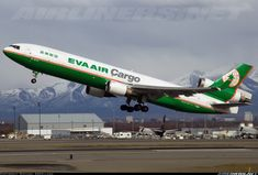 EVA Air Cargo B-16113 McDonnell Douglas MD-11F aircraft picture