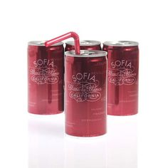 My inner red-neck might kind of love this. 2011 Sofia Sparkling Wine 4 Pk, $14.99, now featured on Fab.