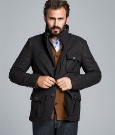 While going out in winter, every man must make sure to have an outerwear that ensures his warmth to the