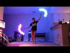 Pyroterra LED Fire Fans Practice 11/9 - YouTube