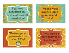 Here are a set of conversation starter cards that are meant to create some valuable memories around the Thanksgiving table.  You just print, cut  and put in a pretty basket on the dinner table .  Then let the conversation begin.  You can download them here. These conversation cards coordinate with the following Thanksgiving Party Printables …