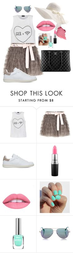 """""""Me + wi-fi"""" by magdalena-akerman ❤ liked on Polyvore featuring Ally Fashion, RED Valentino, Isabel Marant, Chanel, MAC Cosmetics and Cutler and Gross"""