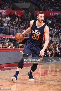75095ff9d84 News Photo   Gordon Hayward of the Utah Jazz handles the ball... Gordon