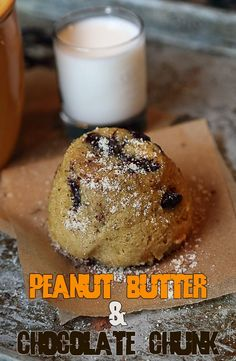 Peanut Butter and Chocolate Chunk Mug Cake | Ruled Me