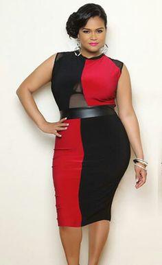 9c3e15f6b4e Ladies Hot Plus Size New Arrivals Red Bodycon Dress
