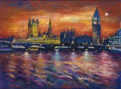 Здание Парламента, Лондон (Extra Large печати) Патрисия Клементс