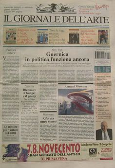 2003 Giornale dell'arte, Torino