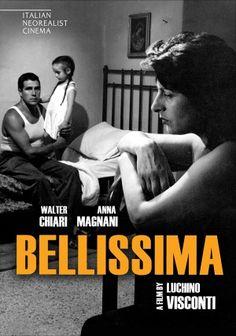 Bellissima di Luchino Visconti con Anna Magnani e Walter Chiari