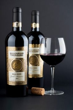 The Bulgarian Treasure Wine on Packaging of the World - Creative Package Design Gallery