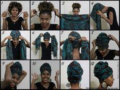 Turbante: Acessório da moda afro