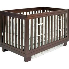 Babyletto from Million Dollar Baby-Modo 3-in-1 Espresso Baby Crib - M6701