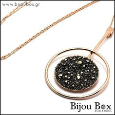 Bijou Box, Necklace Designs, Rose Gold Plates, Jewelry Collection, Jewelery, Great Gifts, Swarovski, Jewelry Watches, Bronze