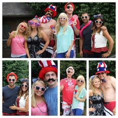 fourth of july photo booth