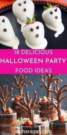 Halloween Desserts, Comida De Halloween Ideas, Halloween Fingerfood, Postres Halloween, Hallowen Food, Halloween Decorations, Halloween Food Recipes, Halloween Brownies, Halloween Wreaths