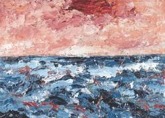Jan Cremer, This is the sea Art Story, Impressionism, Art Boards, Underwater, Artsy, My Arts, Museum, Paintings, Abstract