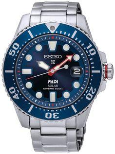 Seiko SNE435P1 PADI Solar Prospex Diver