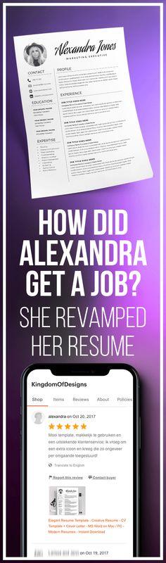 Classic Resume - Professional Resume Template for Word \ Pages - 2 - pages resume templates for mac
