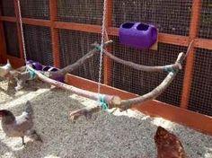DIY Chicken Swing Perch