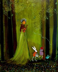Forest Friends by Johanna Wright