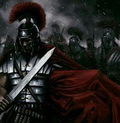 Bárbaros de Germania vs Romanos