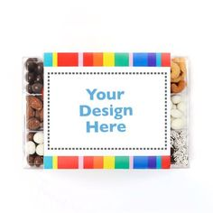 Dylan's Candy Bar Personalizable Chocolate & Nuts Tackle Box : All Personalizable Gifts