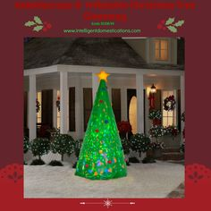 We are so happy to have teamed up to bring you this Kaleidoscpe Green  8′ Inflatable Christmas Tree  Giveaway. You will entertain everyone in your neighborhood with this striking lighted display! We really are in the Holiday spirit here at Intelligent Domestications. Be sure to stop by the Ultimate Virtual Cookie  Goodies Party and Giveaway going …