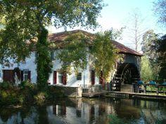 Flour and electricity mill, Ophovenermolen, Sittard, the Netherlands.