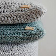 Haak & Maak: Hip gehaakte woonaccessoires - kussenhoezen haken