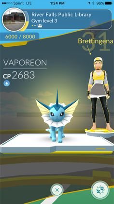 Library gym 5-29-17. Welcome, Brettingena!