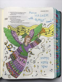 Psalm 1503 ESV Journaling Bible With Polychromos Pencils And Micron Pens BriahBatAryeh