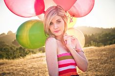 Lovely image. Soft lighting and translucence of the balloons really sets the mood.